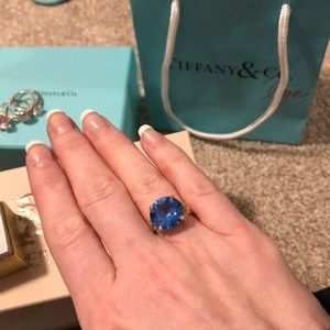 Jewelry - London blue topaz cocktail ring